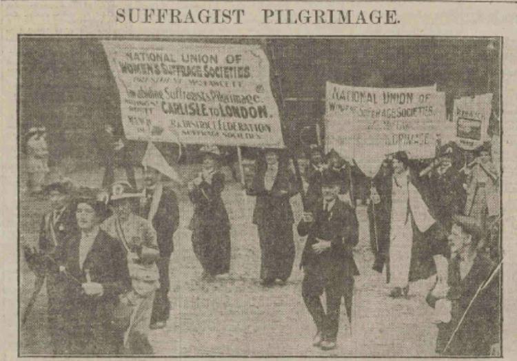 Suffragist pilgrimage